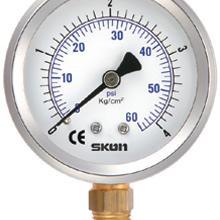 台湾协钢油压表铁氟龙隔膜式压力表哪家质量好
