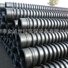 深圳高密度聚乙烯(HDPE)缠绕增强管
