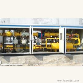 小区供气工程LNG气化调压撬-lng减压撬-气化调压柜