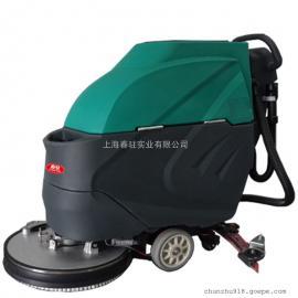 高铁站水磨石地面用清洗机移动式工业用电动洗地机厂家直销
