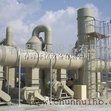 喷淋塔搭配等离子废气净化器处理树脂燃烧烟气效果