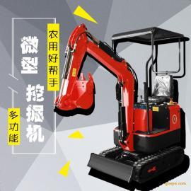 迷你挖掘机钢材农用挖掘机全新微型挖掘机