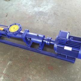 宣一牌G85-1型单螺杆泵 不锈钢FG85-1螺杆泵