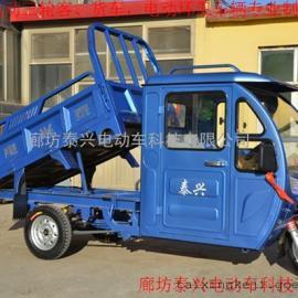 直销德利泰自卸环卫保洁车电动三轮原装现货