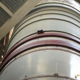 潍坊钛钢复合板烟囱内筒工程总承包施工