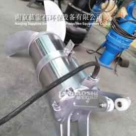 防腐蚀潜水搅拌机如何选型与安装