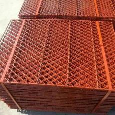 安庆包边钢板菱形踏板-脚手架钢笆(常年加工铁笆片-外墙架网