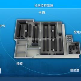 医院机房环境监控系统UPS监测漏水检测断电预警系统