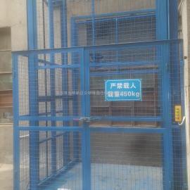 东莞导轨式升降平台,简易升降货梯
