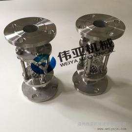 优质不锈钢卫生级法兰管道视镜/视盅304