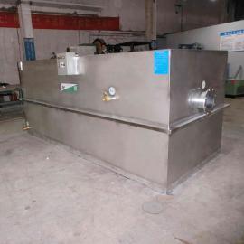 厂家供应食堂油水分离器 成品不锈钢隔油池 污水处理设备