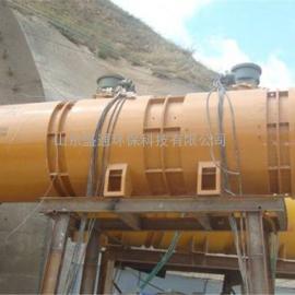 变频隧道风机 SDF双速隧道风机 2*75kw隧道施工风机