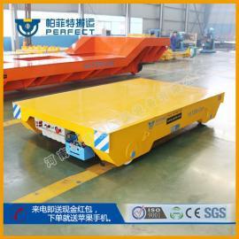 低压电动轨道搬运车建筑材料和包装材料7天交货期电动平板车平移&
