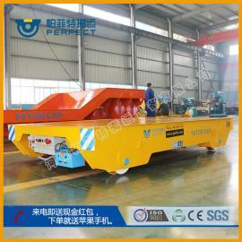 轨道电动搬运车超重载平板车(无轨车轮)物料转运车