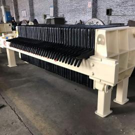沧州巨鑫设备 板框压滤机 机械压紧方式