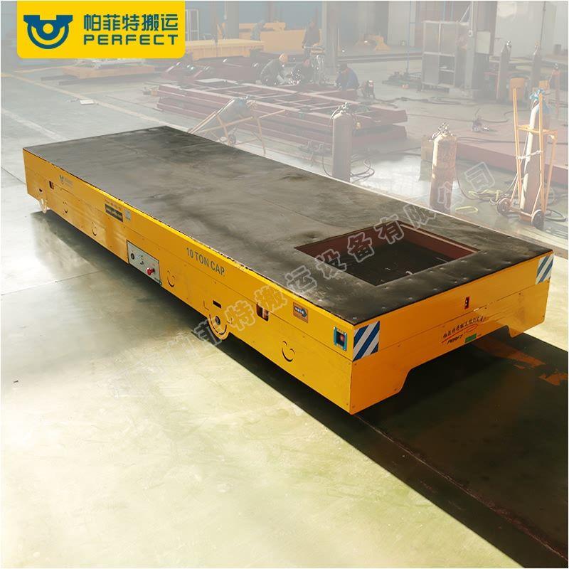液压升高无轨电动轨道搬运车木材钢材铁材