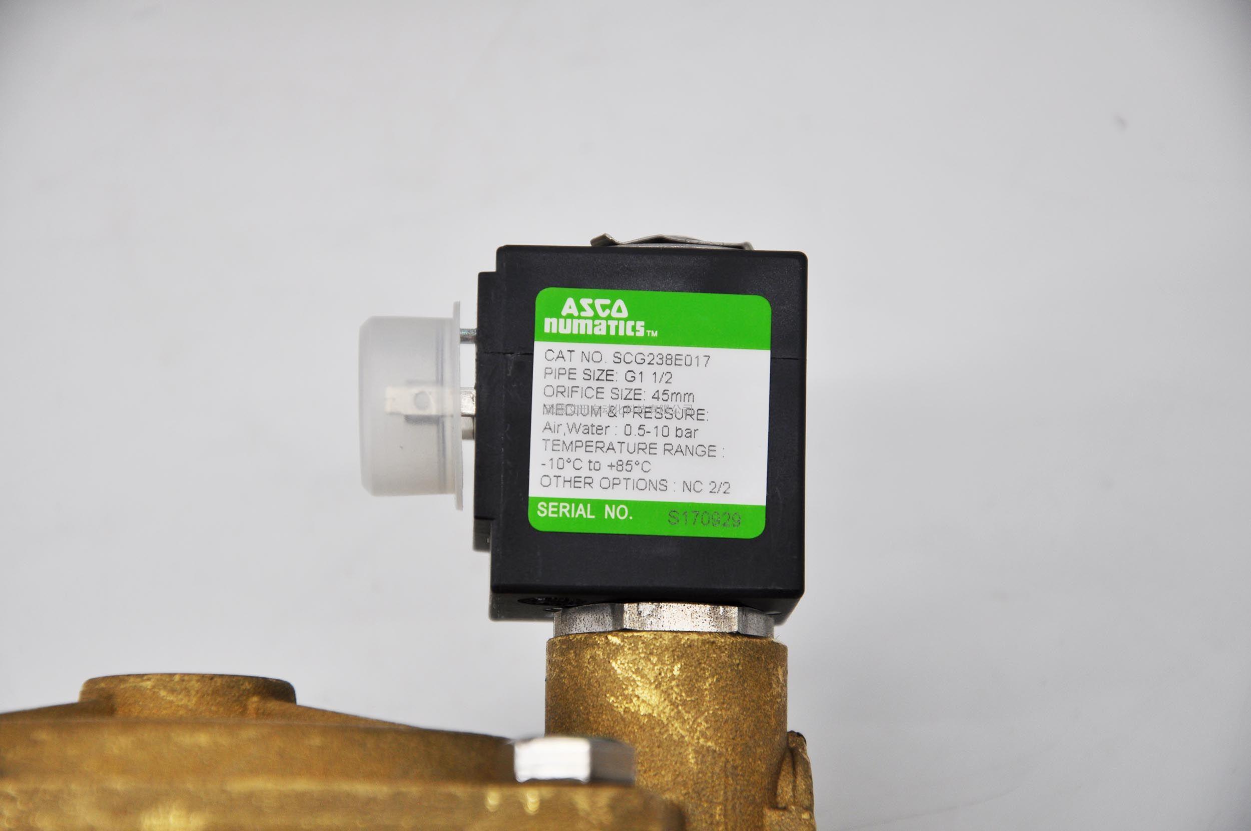 现货ASCO世格电磁阀两通阀SCG238E017