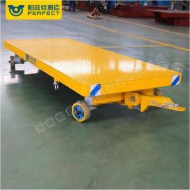 平板牵引拖挂车车间工厂码头机场车站专业制造搬运车质量有保障