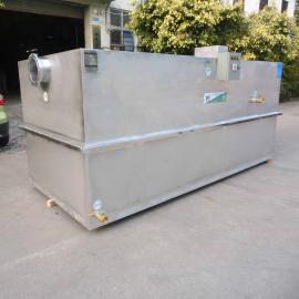 厂家供应员工食堂油水分离器 不锈钢隔油池 餐饮隔油器