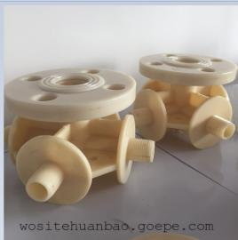 ABS四通式曝气管 ABS管道制作安装 改造