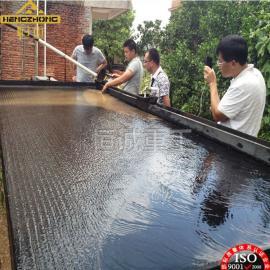 河南洛阳选钢渣设备-江西恒诚6-S玻璃钢选矿摇床