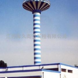 伞形水塔堵漏