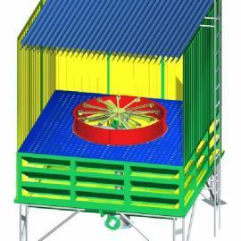 山东锦山喷雾冷却塔WPTL-1050B型无风机冷却塔