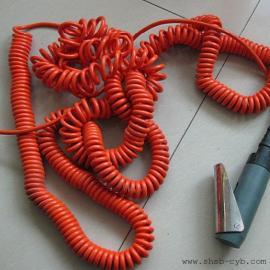 自动门螺旋电线