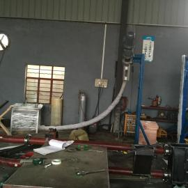 上海浦东拜肯CD40集装箱卸料系统