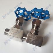 温州生产JJ.M1内外螺纹压力表截止阀 内外螺纹压力表阀