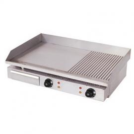 唯利安电扒炉GH-822A 半平半坑扒炉 煎炉 铁板烤炉