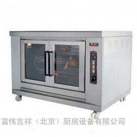 唯利安叠式旋转燃气烧烤炉(单层)YXD-203 烤鸡炉