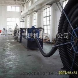 青岛隆昌捷PE碳素螺旋管生产线