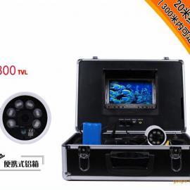 100米修井捞泵补井用水下摄像头,井下探头QX707B