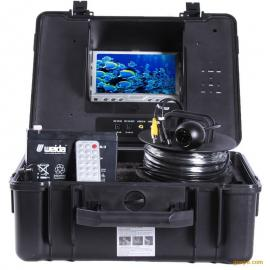 4.5CM小尺寸井下摄像头,修井捞泵补井水下摄像机QX707