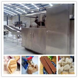 威化饼干27生产流水线