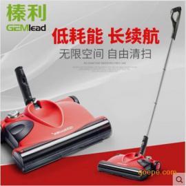 榛利C1手推式自动扫地机器人无线电动扫把吸尘器家用 扫地机