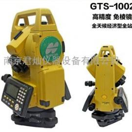 拓普康GTS-1002免棱镜全站仪(替代GTS-102N)