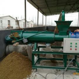 济宁华航环保机械加长型HH280 鸡粪固液别离机