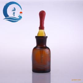 实验室棕色滴瓶 棕色玻璃滴瓶 附胶帽
