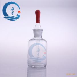 实验室白滴瓶透明玻璃滴瓶附红胶帽