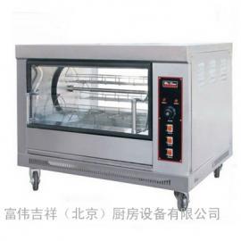 唯利安旋转式燃气烤炉YXD-188 烧烤炉 烤鸡炉 烤肉炉