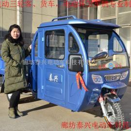 直销德利泰自卸环卫保洁车电动三轮性价比最高