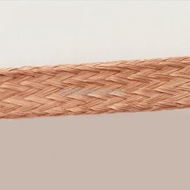 紫铜编织带 极细铜丝编织带