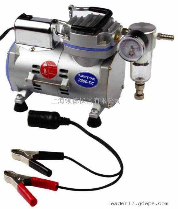 野外用便携式无油真空泵R300-DC
