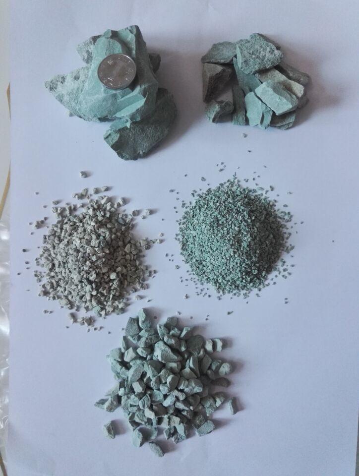 城市河道除氨氮沸石粉 河道过滤污水沸石颗粒 东莞沸石颗粒