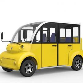 利凯士得LK-Q08景区四轮电动观光车 社区巡逻电动车