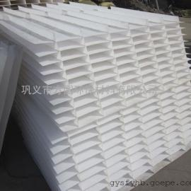�f州六角蜂�C斜管填料乙丙共聚斜板填料安�b方法