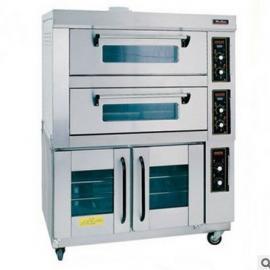 唯利安电烤箱YXD-40B-8 双层四盘电烤箱连下醒发箱