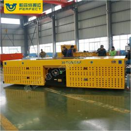 钢管运输用低压轨道供电电动平车 搬运车